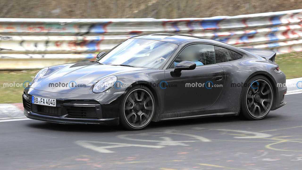 Porsche 911 Sport Classic: cazado en Nürburgring en fotos espía