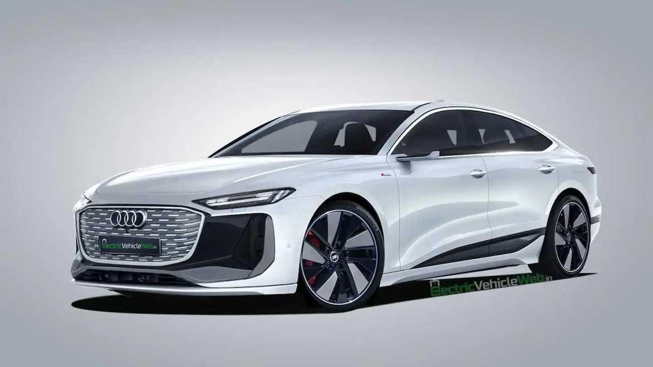 Illustration Audi a6 e-tron
