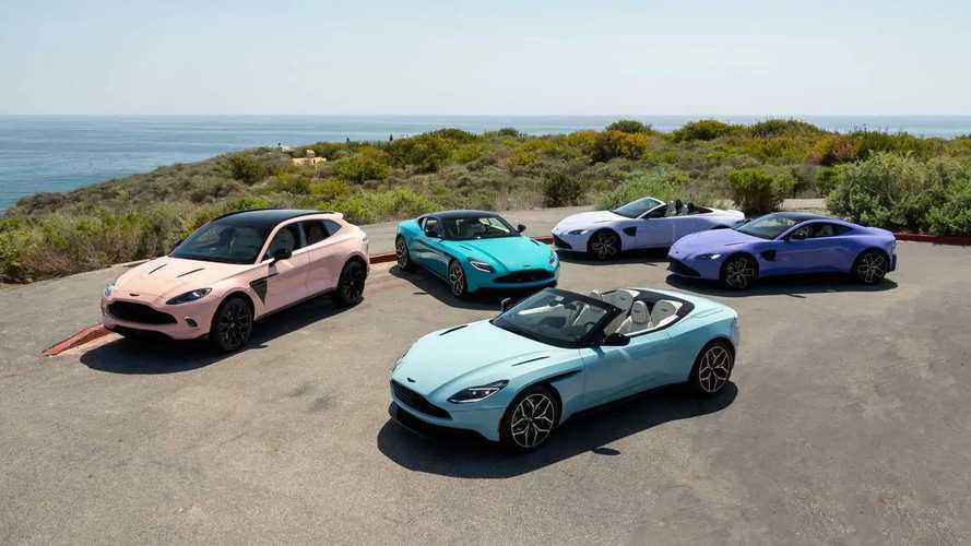 """Aston Martin, DBX'e özel """"pastel"""" koleksiyonunu tanıttı"""