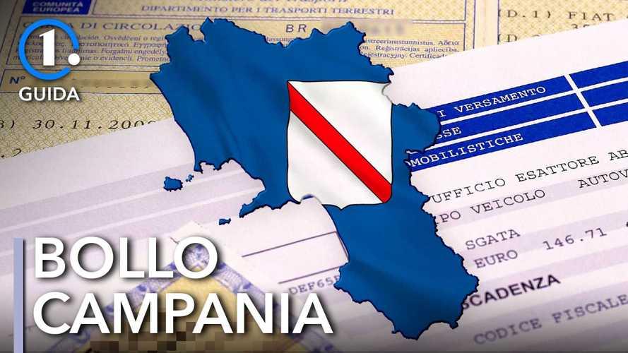 Come si paga il bollo auto in Campania
