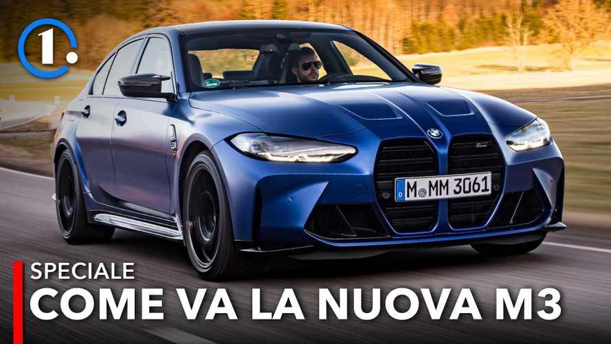 Nuova BMW M3 Competition, la prima prova di Motor1.com