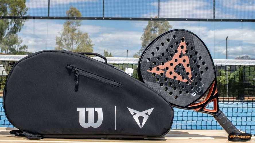 CUPRA presenta su nueva pala de pádel, en colaboración con Wilson