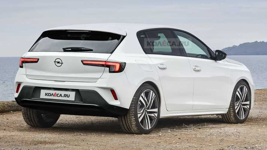 2022 Opel Astra unofficial rendering