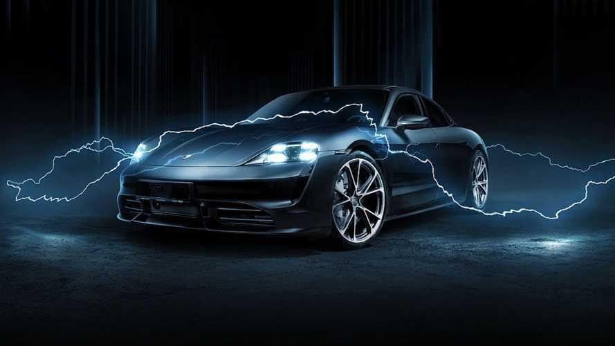 Modifikasi Visual TechArt Bikin Porsche Taycan Tampil Beda dan Stylish