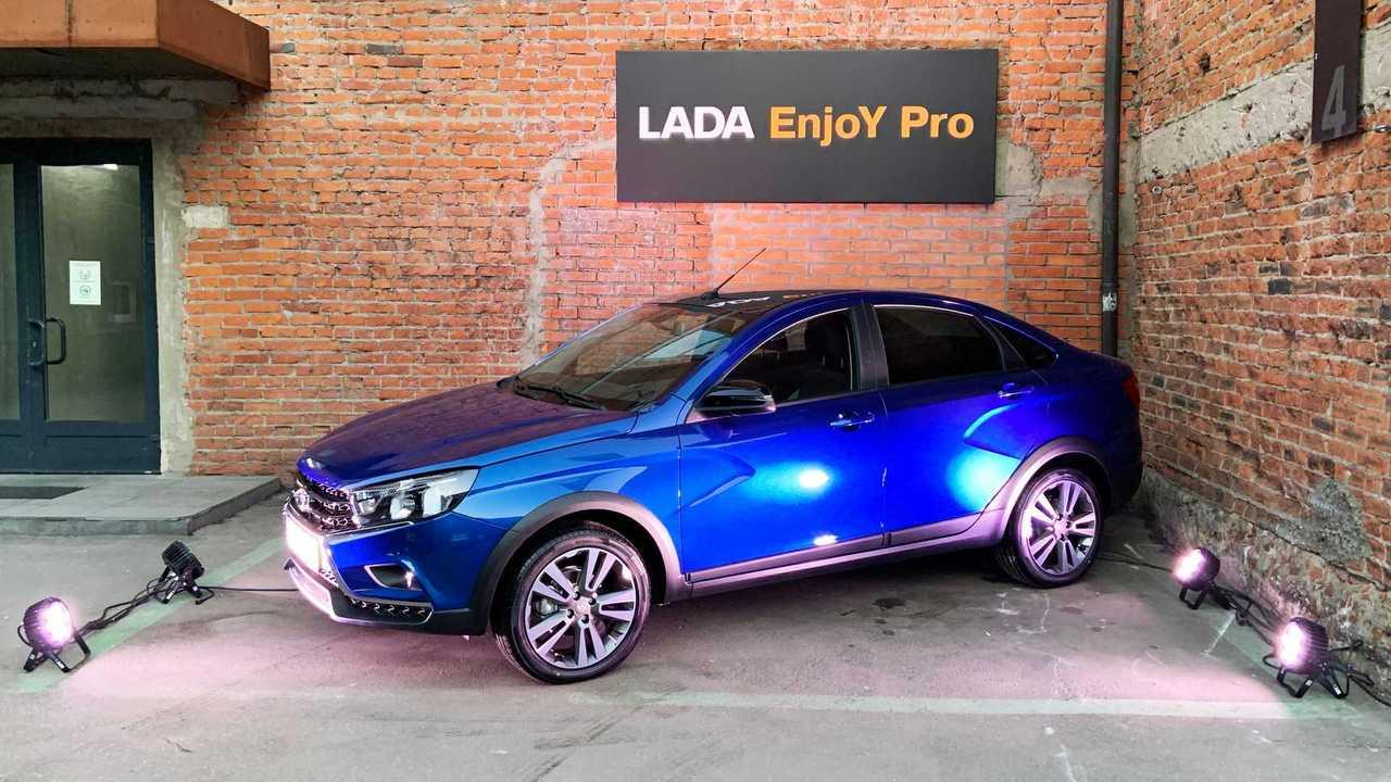 Новая мультимедийная система Lada Enjoy Pro