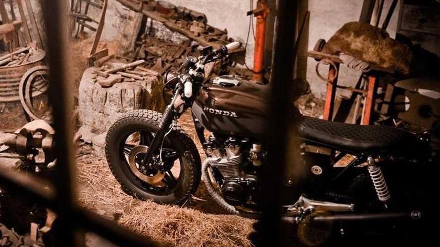 Slovenian Shop Crafts Extraordinary Custom 1983 Honda CB750K