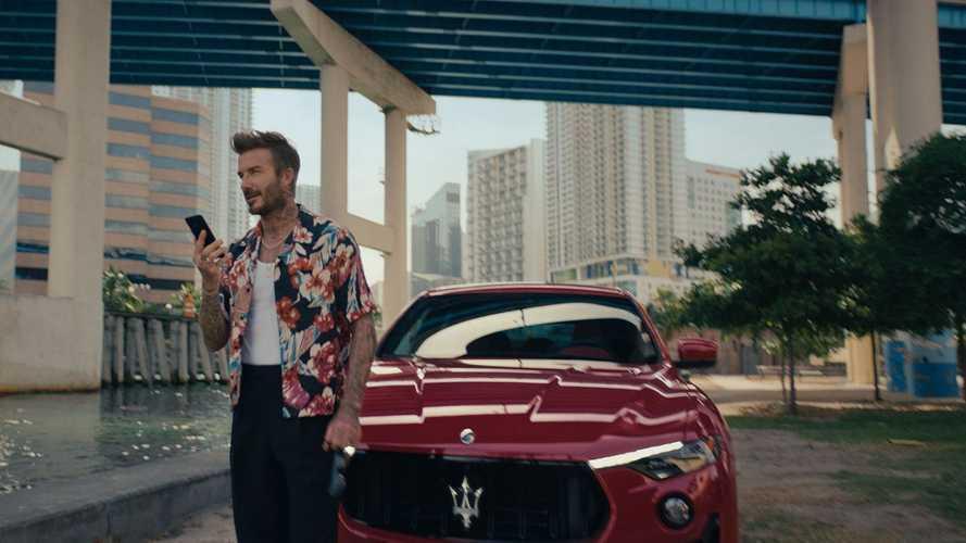 Maserati, David Beckham è nuovo brand ambassador