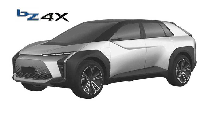 Toyota BZ4X Is The Name For Automaker's New Electric Crossover