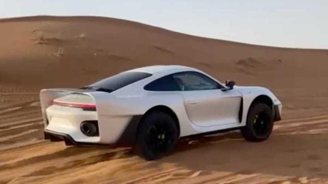 Porsche 911 offroad Gemballa