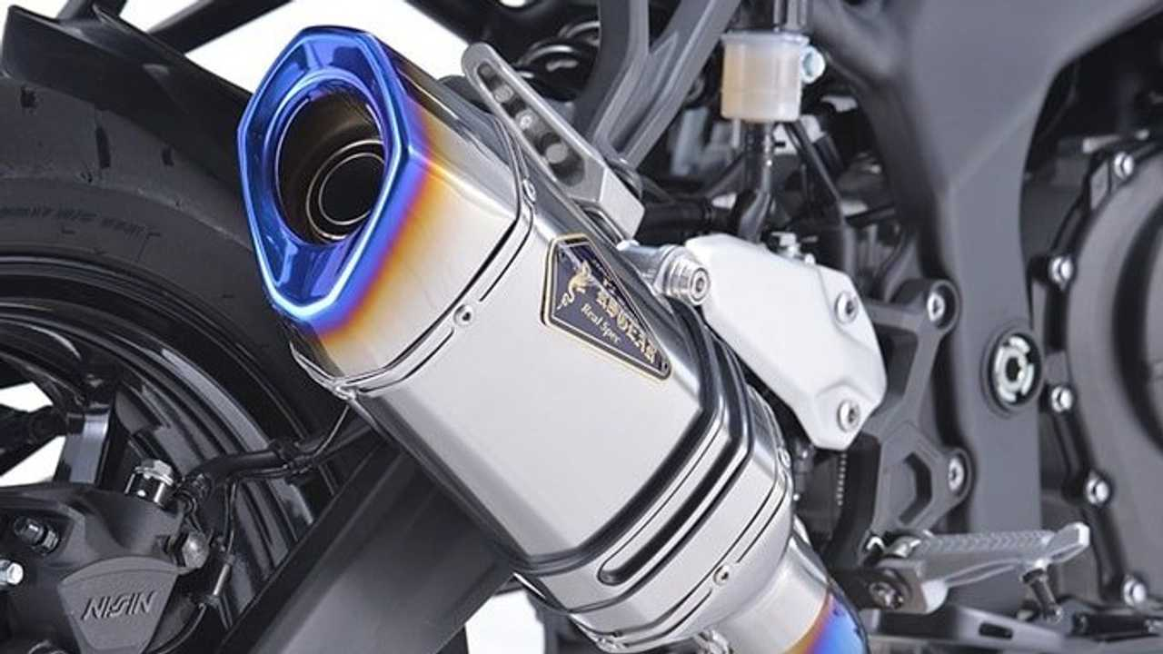 R'S Gear Releases New Titanium Exhaust For Ninja ZX-25R
