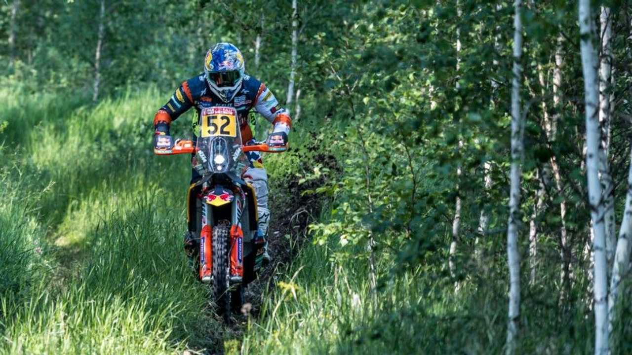 Matthias Walkner Wins 2021 Silk Way Rally - Forest