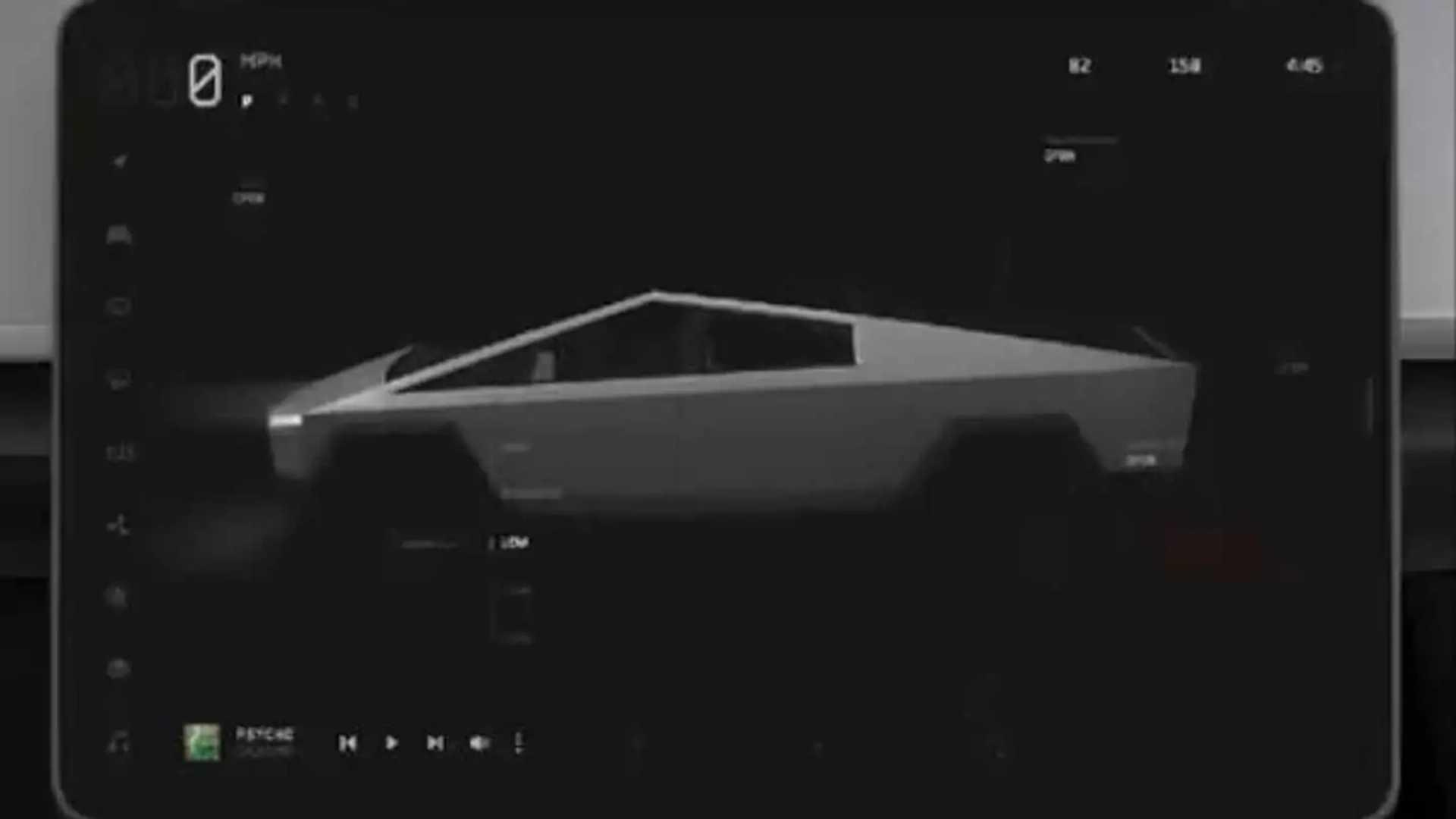 A Former Tesla Designer Shared The Cybertruck's UI Design