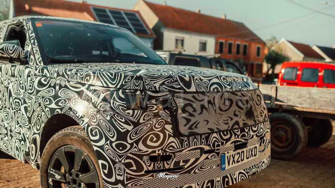 Land Rover Range Rover Casus fotoğraf