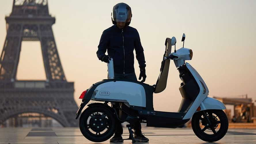Mob-ion Presents Hydrogen Electric Scooter Prototype