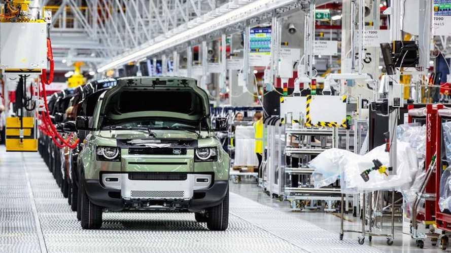 Land Rover suspende produção por falta de semicondutores