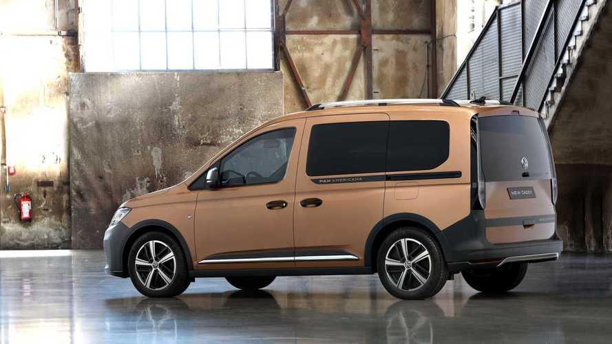 Volkswagen Caddy PanAmericana, nueva versión offroad
