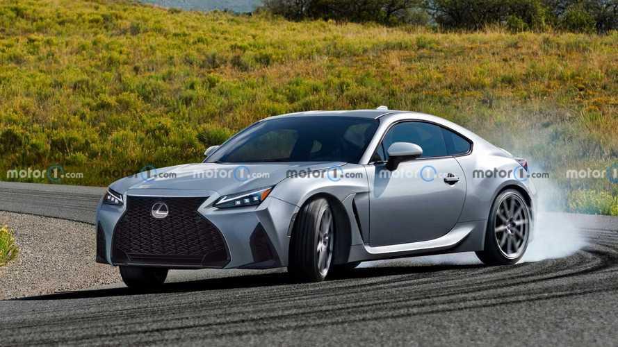 Lexus böyle bir spor coupe model mi üretecek?
