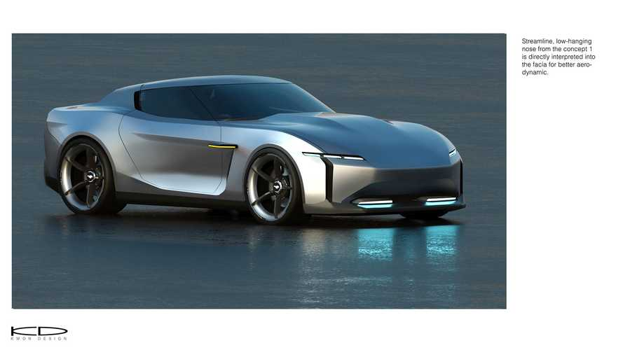 Ford Mustang reimagined as smaller 2030 electric coupe