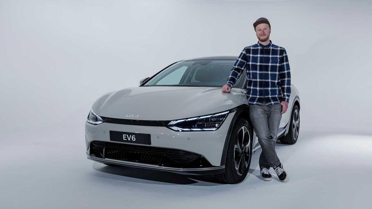 Sitzprobe Kia EV6 (2021)