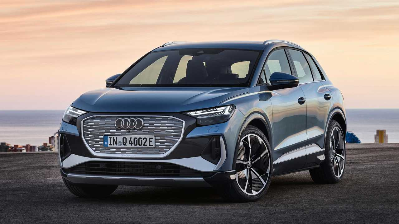 2022 Audi Q4 E-Tron külső