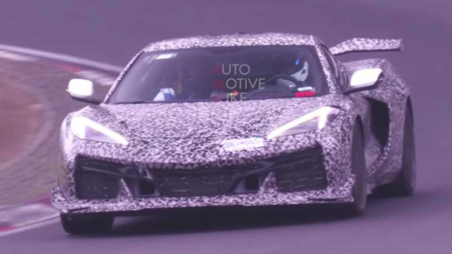 Chevy Corvette Z06 C8 Spied Sounding Amazing On The Nurburgring