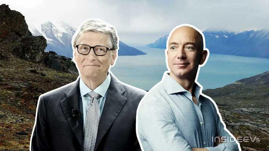 Cosa ci fanno Jeff Bezos e Bill Gates in Groenlandia?