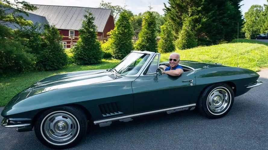 Байден случайно анонсировал электрический Chevrolet Corvette