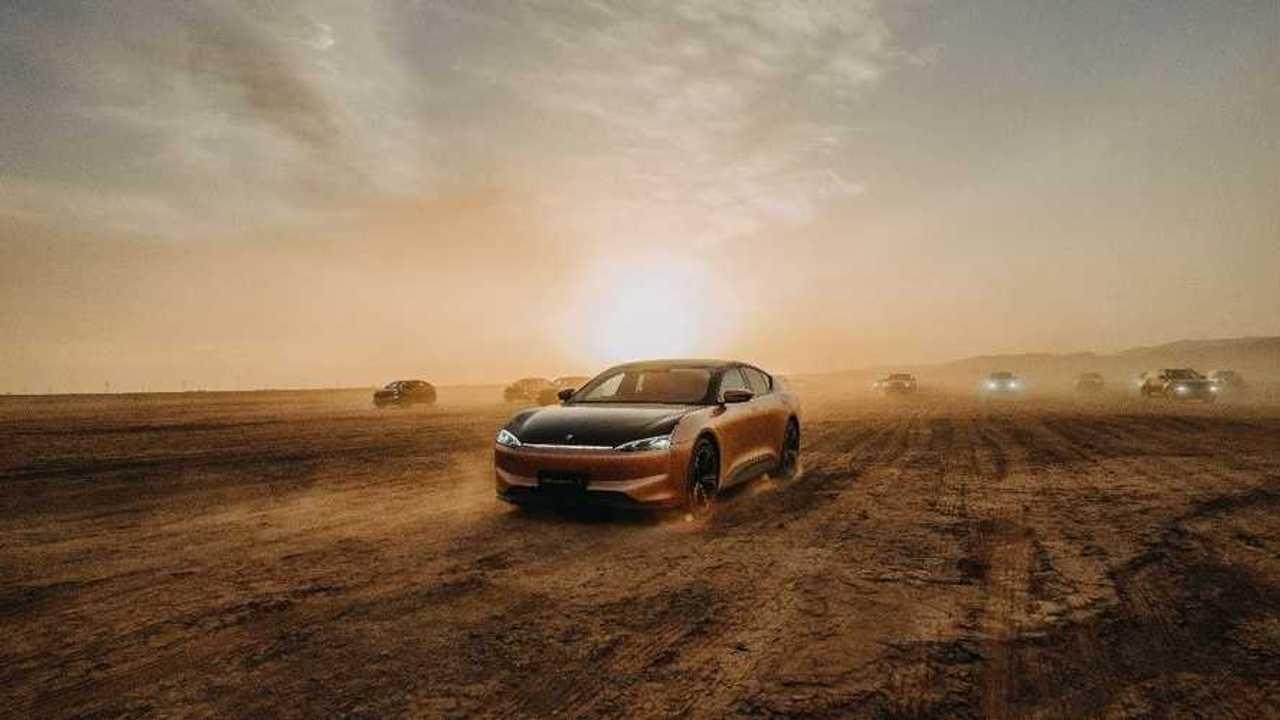 Автомобили Hengchi на летних тестах