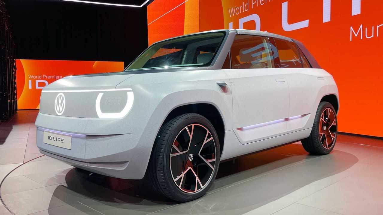 VW ID. Life debuts in Munich