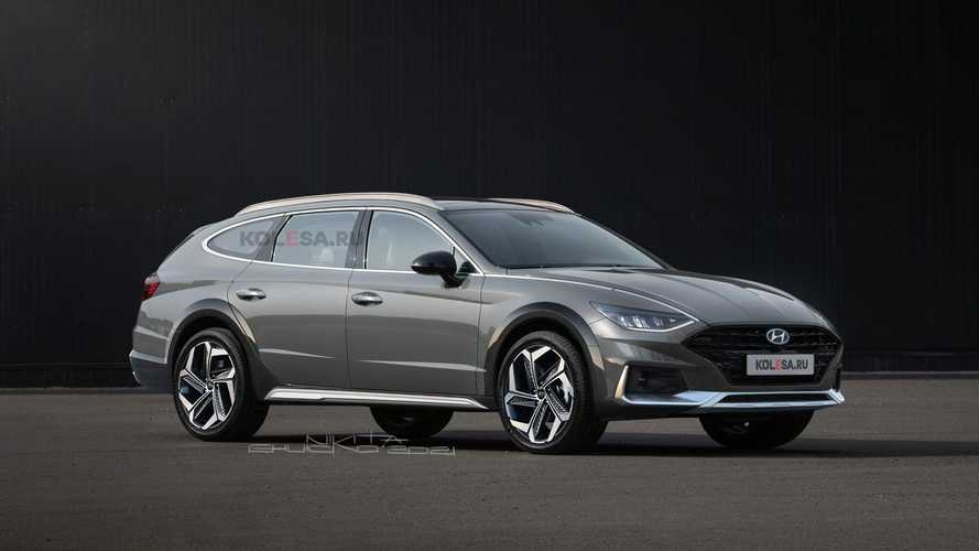 Rendering Tak Resmi Hyundai Sonata Allroad Terlihat Tangguh