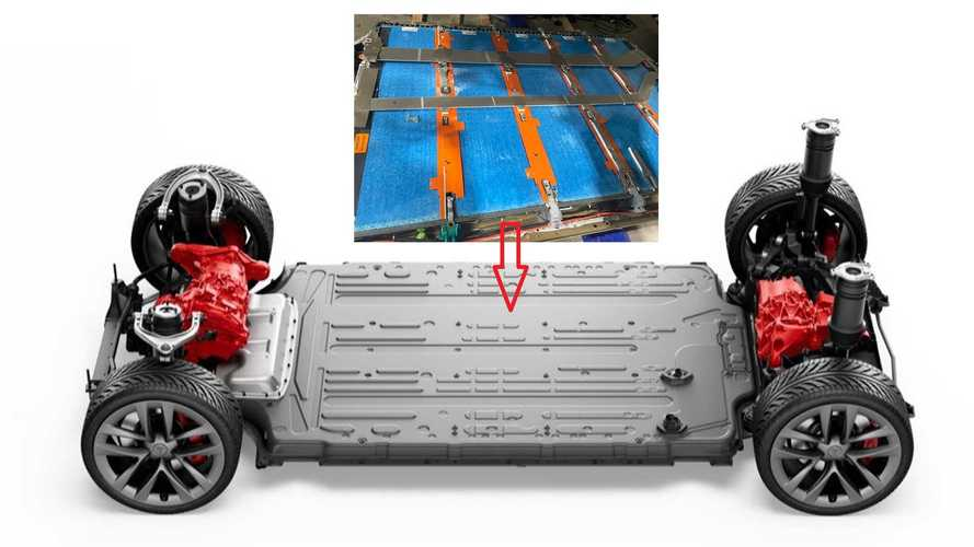 See Tesla Model S Plaid's New Battery Pack Exposed