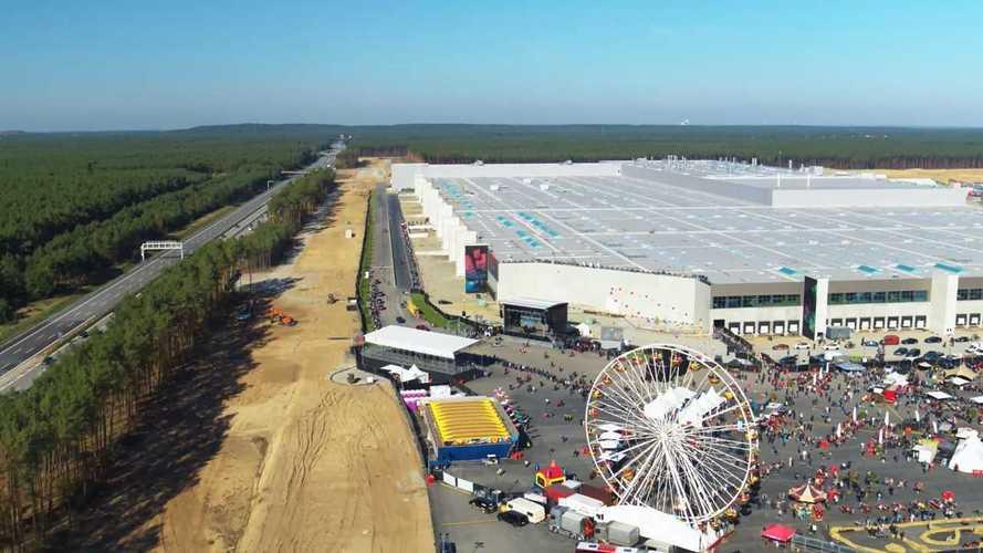 Открытие завода Tesla в Германии