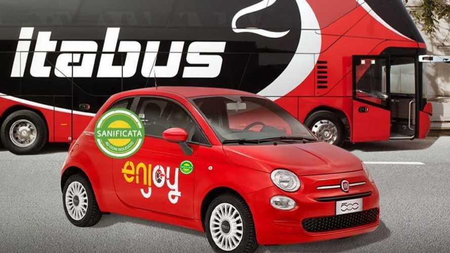 Ora si può prenotare un'auto Enjoy dal sito di Itabus