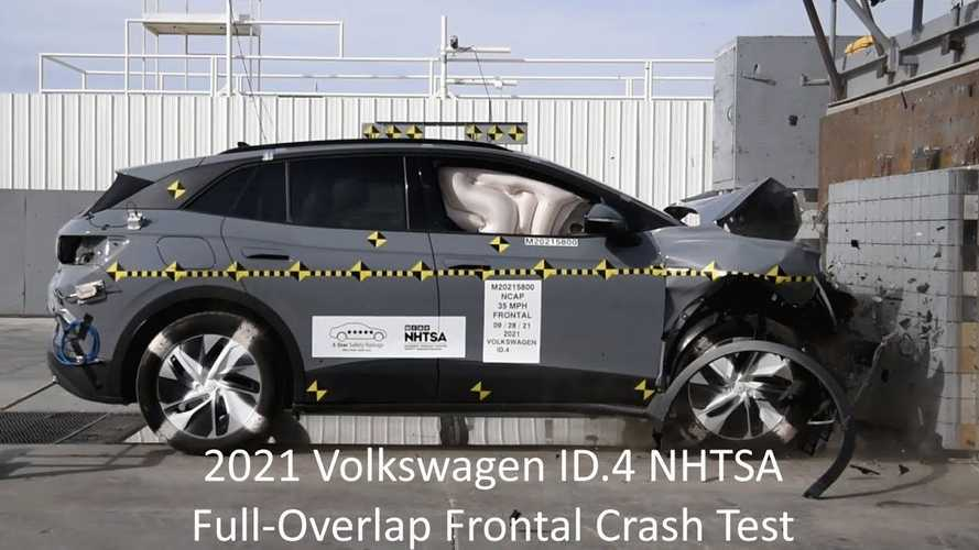 Volkswagen ID.4 RWD Receives NHTSA 5-Star Overall Safety Rating