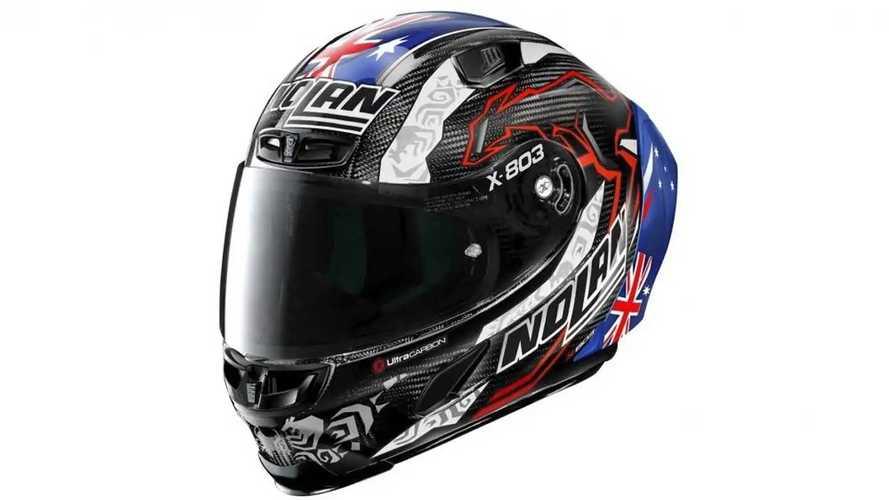 New Nolan X-803 Helmet Honors Casey Stoner's 2011 MotoGP Title