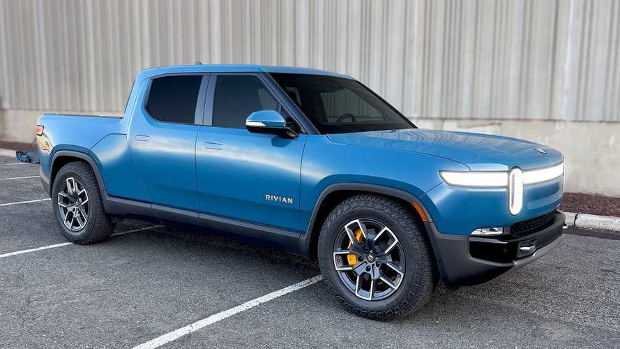 MKBHD Says Rivian R1T Is An Incredibly Fun Electric Pickup
