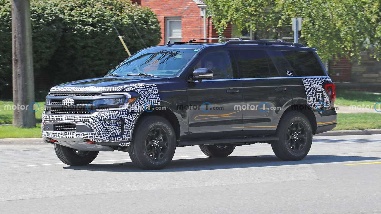 2022 Ford Expedition Timberline new spy photo