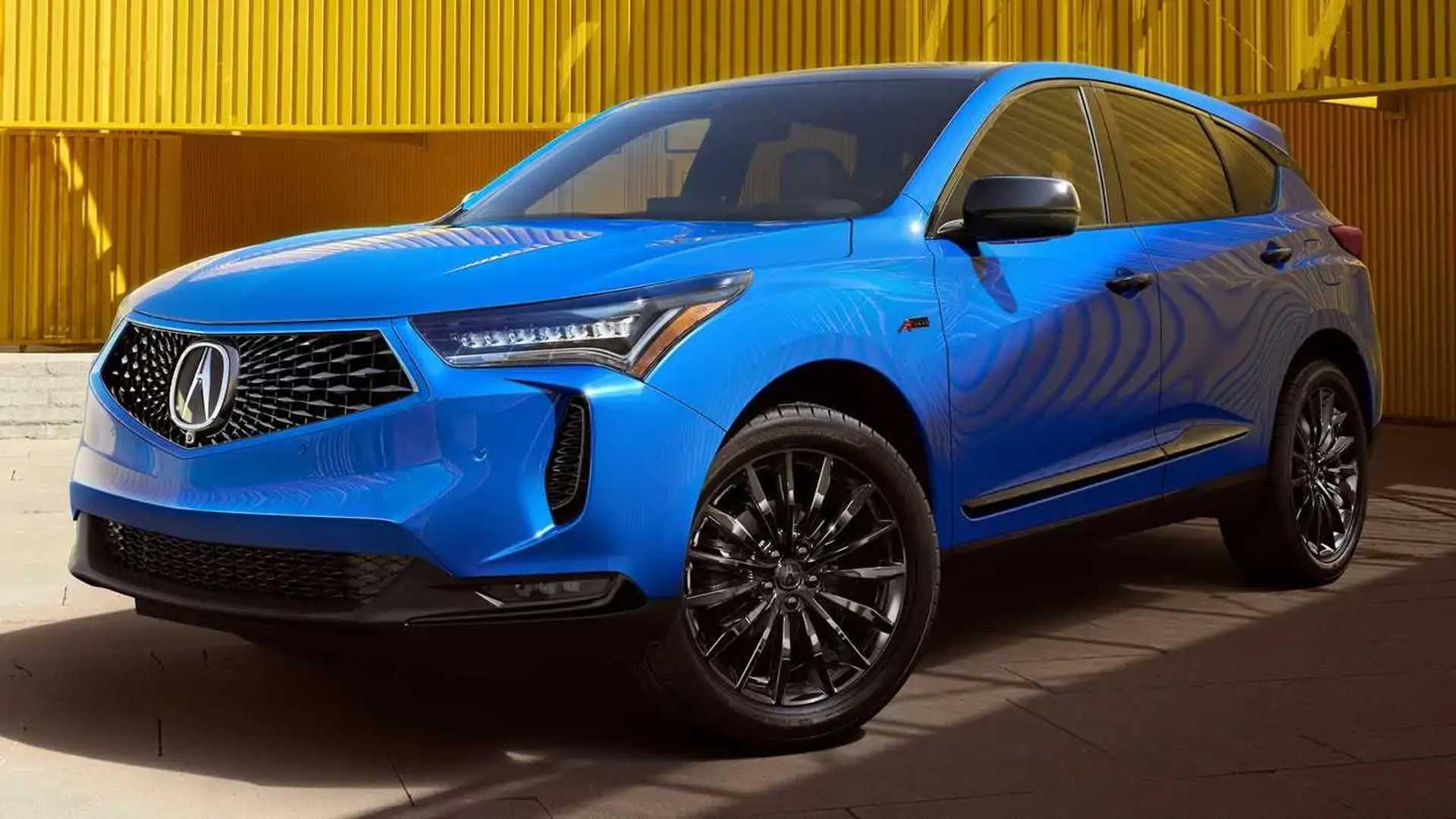 Acura RDX обновилась в духе старшего брата