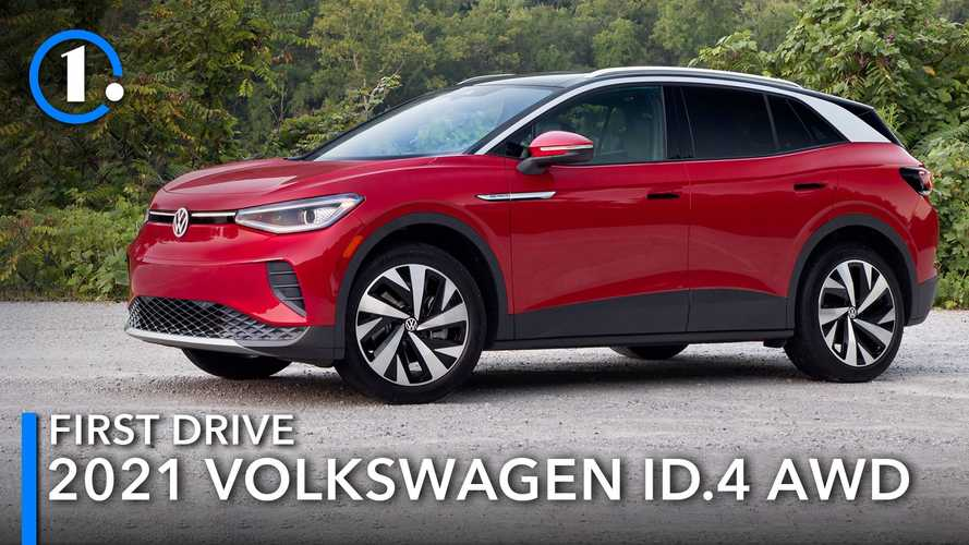 2021 Volkswagen ID.4 AWD First Drive Review: Crossover With Confidence