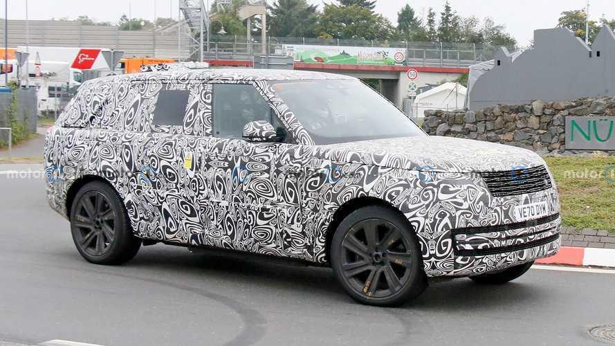Le nouveau Range Rover surpris en plein test