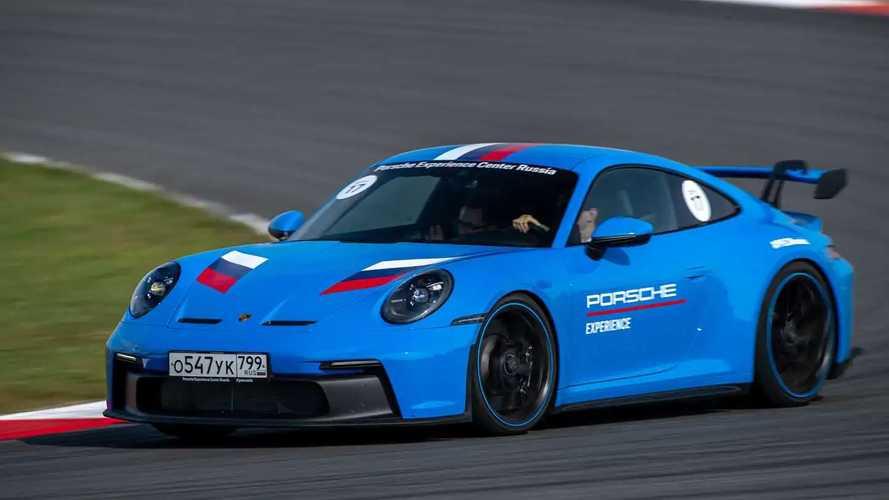 Porsche 911 GT3 на Moscow Raceway