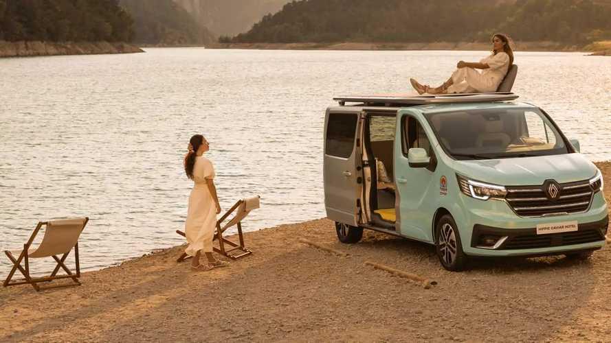 Renault Trafic Space Nomad y Hippie Caviar Hotel: nuevas camper