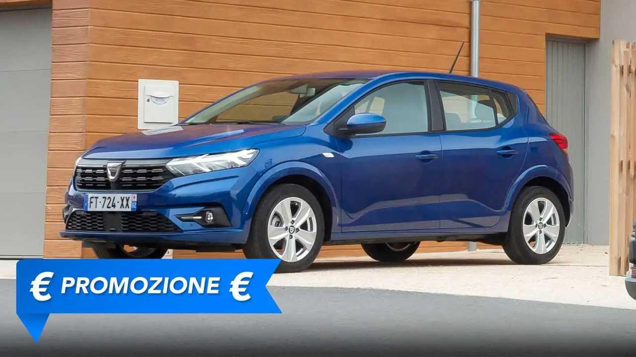 Dacia Sandero Streetway, promozione agosto 2021