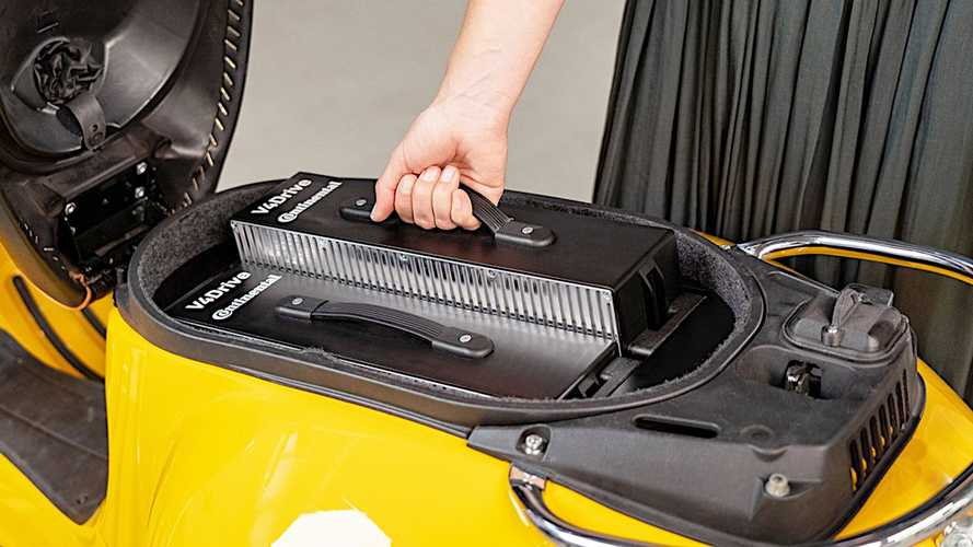 Continental And Varta Team Up On Compact, Swappable Battery Packs