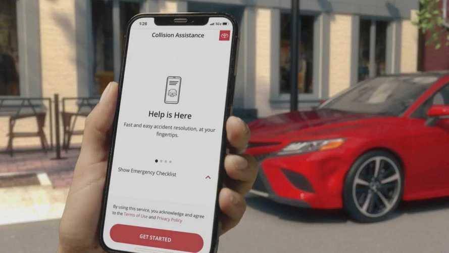 Toyota-Lexus baleseti segélyapp