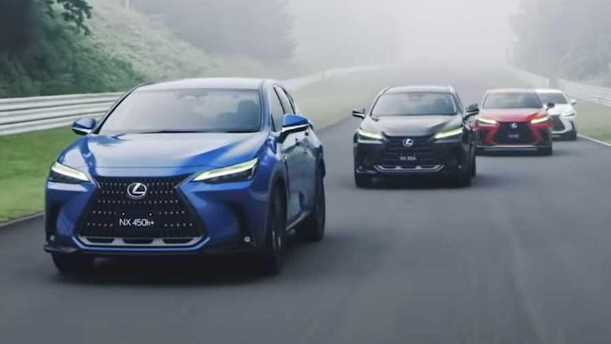 Lexus NX 2022 Terkuat, 450h +, Rambah Trek dalam Video Resmi