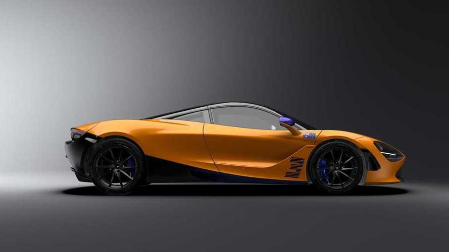İşte McLaren 720S'in Daniel Ricciardo için üretilen özel sürümü!