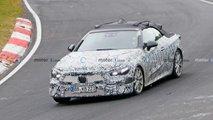 Mercedes CLE Cabriolet mit eigenwilliger Tarnung erwischt