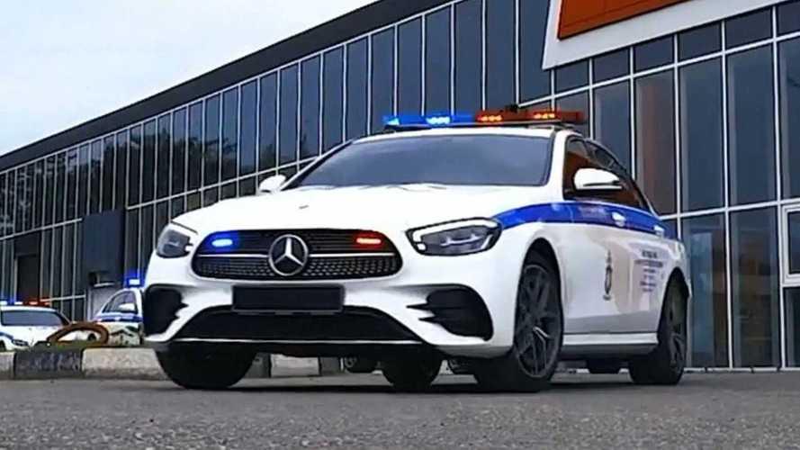 Полицейские Чечни пересели на Mercedes-AMG E 63 S