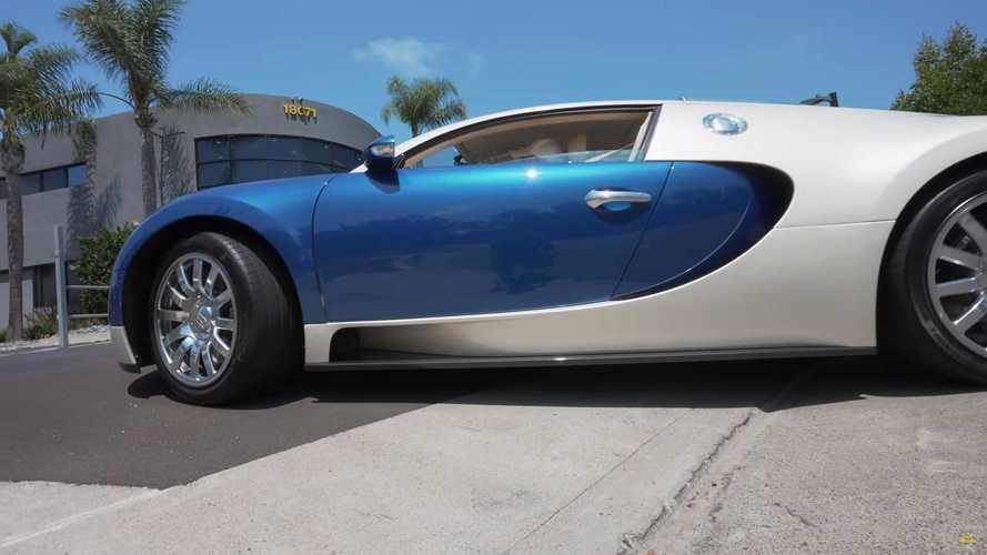 ¿Puede circular un Bugatti Veyron con unos neumáticos de 15 años?